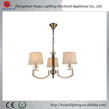 2015 new design light fixtures kitchen lighting chandeliers fabric