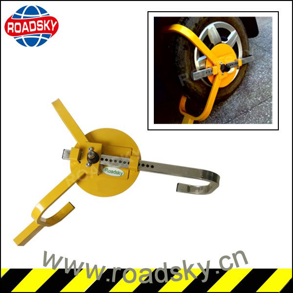 Safety Stainless Steel Parking Wheel Clamp Price