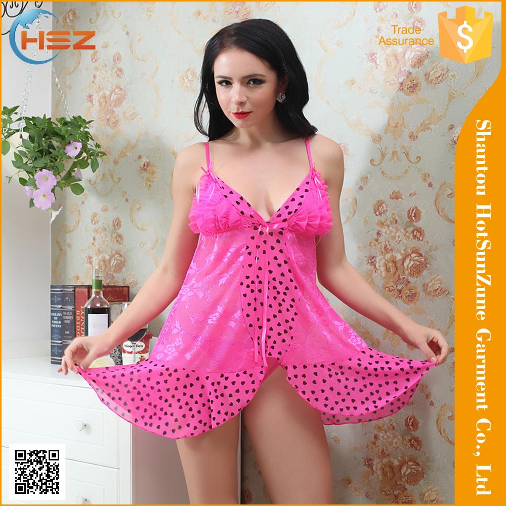 Hsz-8618# Women Adult Lingerie Dress Women Lingerie Sexe Design ...