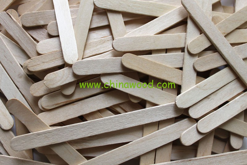 Natural Wooden Craft Sticks for kids DIY toy