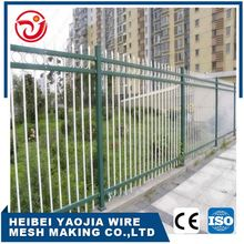 traffic safety barrier zinc steel decorative fence