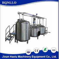 Stainless Steel Brewing Equipment Beer Brewery