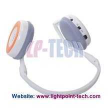 Wireless music mp3 headphone with FM radio USB charging headphone