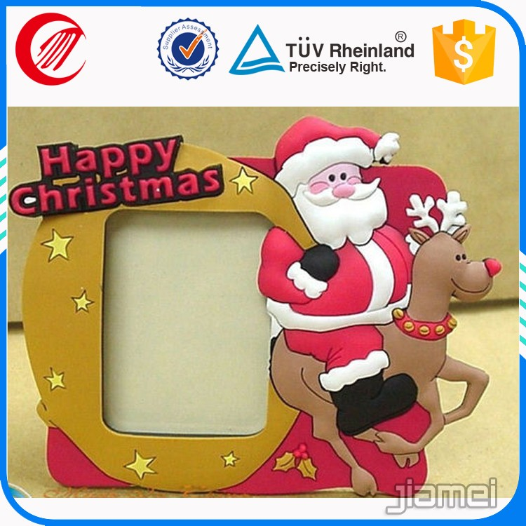 Silicone magic photo frame for christmas gift