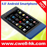 Cheap Smartphone H3039 Android 4.4 MTK6572 Dual Core 4.0 Inch Touch Screen WIFI GPS Unlocked Cell Phone