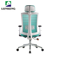 China supplier 2017 newest custom shape / printing shopping office mesh chairs with casters