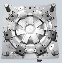 Car accessories plastic injection mould making custom various wheel hub cover mould