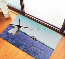 3D printing polyester door mat customized logo carpet