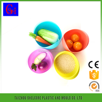 rice washing drain picnic plastic basket