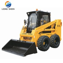 75hp Mini Racoon Skid Steer Loader Cheap Price For Sale