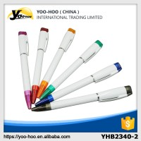 Promotional plastic ballpoint pen With USB flash disk