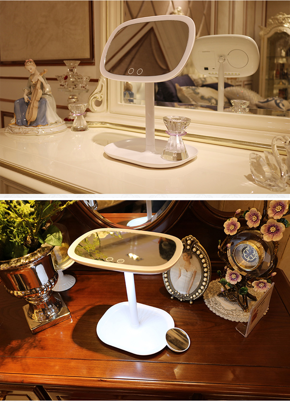 Hot Sale Make Up Magnifying Mirror Led Hollywood Vanity Mirror With Lights Wholesale