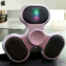 Finger Led Tri-Spinner Wireless Speaker Hand Fidget Spiner