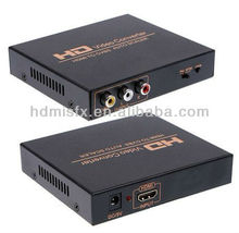 Composite TO HDMI Converter (the CVBS or S-video signal + Audio (L/R) to HD Signal output through the digital converter)