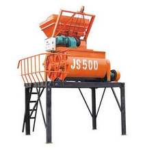 New designed continuously mixing self-loading concrete mixer JS500