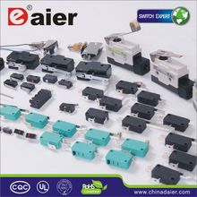 Daier short roller actuator lever micro switch