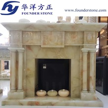 indoor fireplace marble mantels