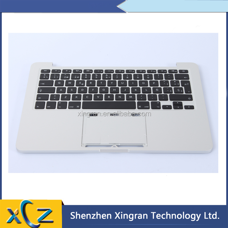 "99% New Topcase Palm Rest with SP Spanish Keyboard For MacBook Pro 13"" Retina A1502 Topcase with SP Keyboard 2013 2014"
