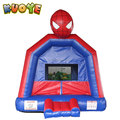 Commercial spiderman trampoline jumping castle inflatable bounce house