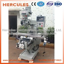 M4A-R Knee type automatic feed dro 3 axis cnc turret milling machine