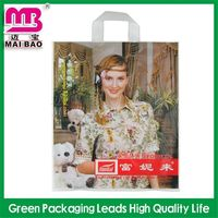 100% recycled hard plastic tote handle bag