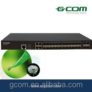 GCOM S5300 Series Switch 24+4 port SFP Ethernet Switch