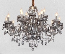 2015 HOT 13 Arms Classic Living Room Chandelier Crystal for Interior Decoration and birdcage chandelier (CCZGZ009)