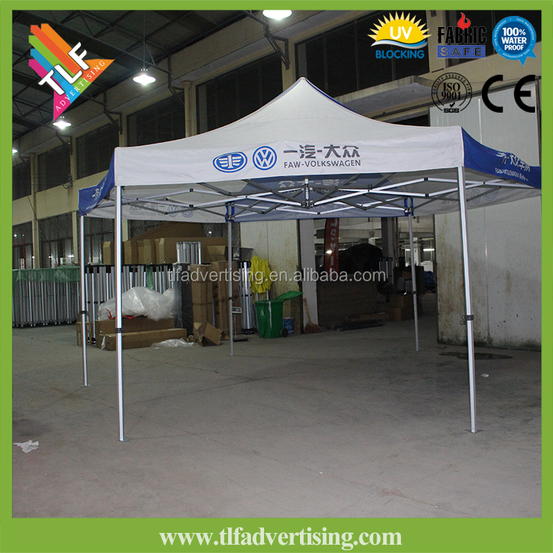 aluminum hexagonal 4x4 pop up canopy