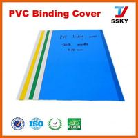 China SGS rigid pvc sheet covers price hard cover for binding