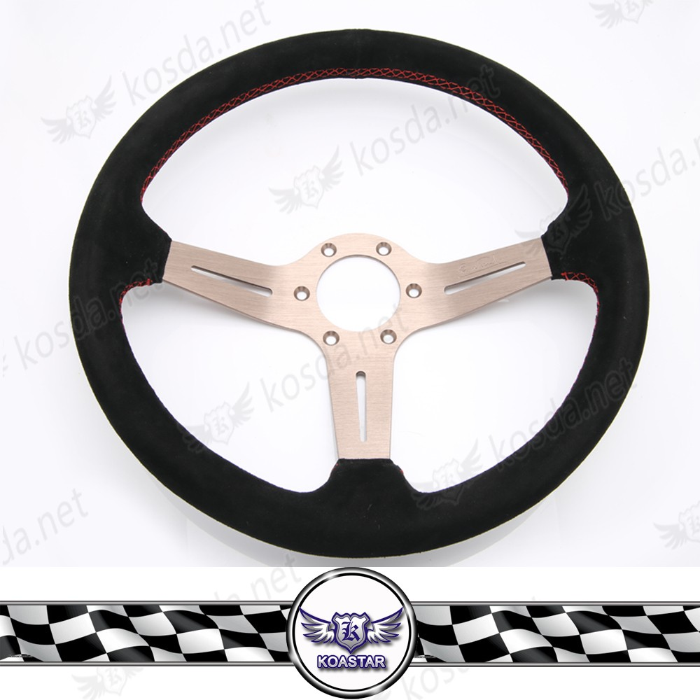 JDM Car Parts Power Steering, Suede Steering Wheel