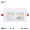 6 icnh bridgelux cob Ra 80 Lifud driver adjustable led square downlight 20w
