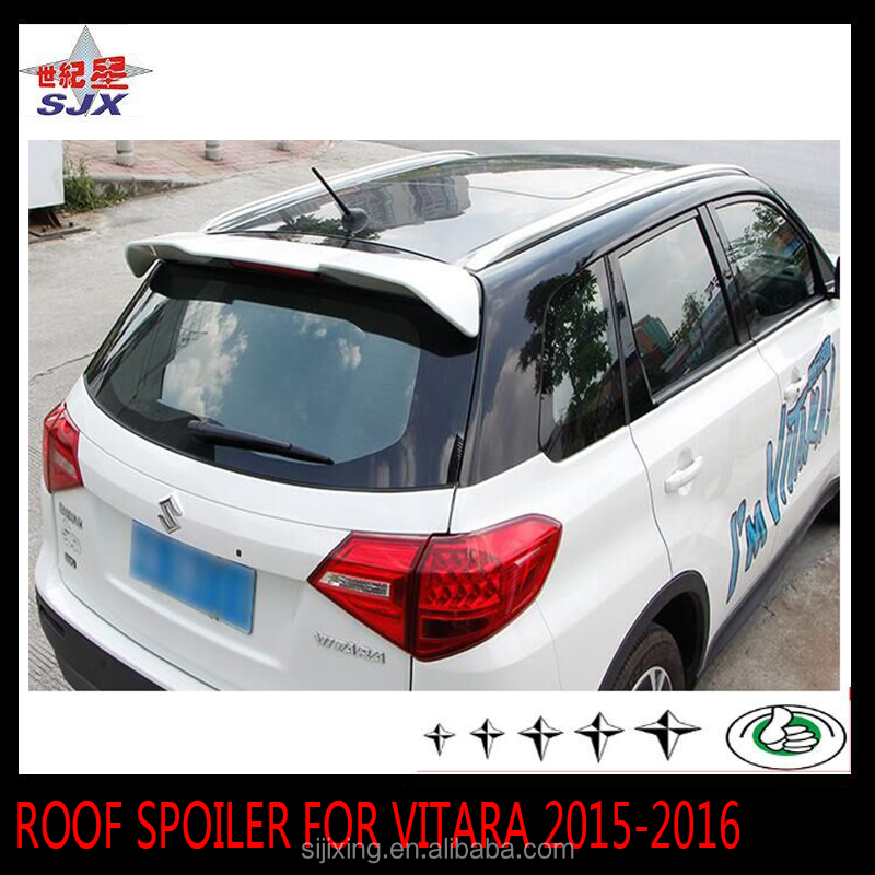 Rear wing spoiler for Suzuki Vitara 2016 car without led light
