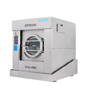 Automatic heavy duty industrial laundry washing machine 100kg for hot sale