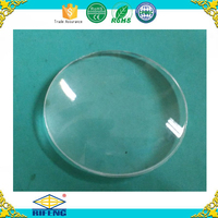 High quality acrylic plastic lens Diameter 31mm biconvex lens