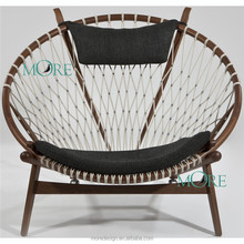 hans wegner circle lounge chair chair Solid Wood Classical Round chair for Living Room