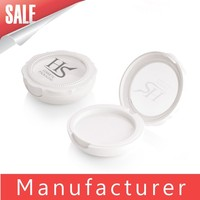 OEM transparent round empty powder compact