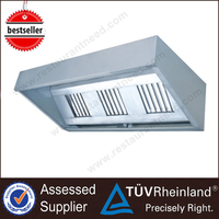Top SS304/201 NSF Industrial Chinese Kitchen Exhaust Range Hood