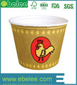 Take away cheap price paper fried chicken bucket