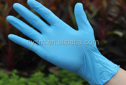 medical nitrile gloves powder free