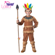 Haloween Indian costumes for kids,kids costume dress up oem indonesia