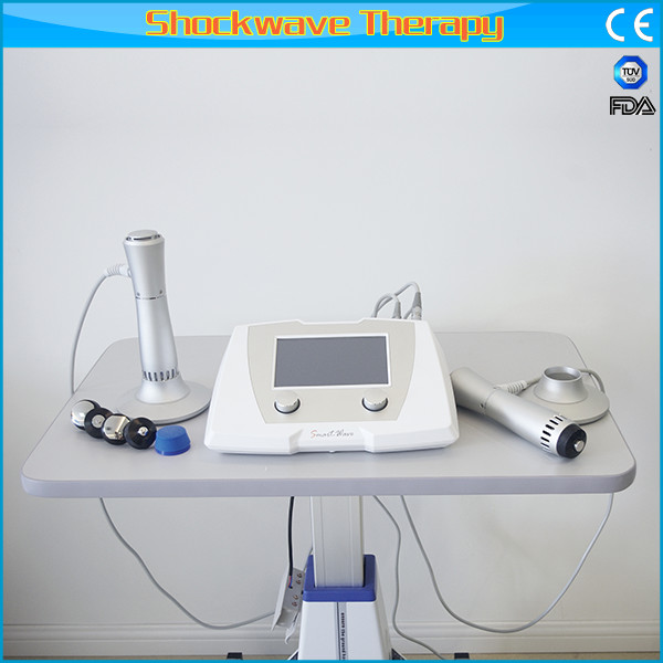 Portable Double End Extracorporeal Shock Wave Therapy Equipment for Chronic Joint Pain and muscular pain