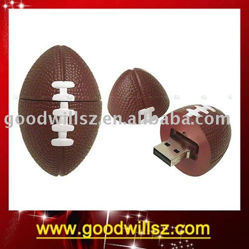 OEM promotion gift American football Usb flash drive
