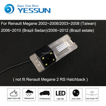 YESSUN For Car Rear View Camera For Renault Megane 2 II / Reverse Camera / HD CCD RCA NTST PAL / License Plate Light