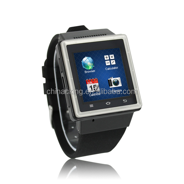 2014 Cheapest MTK6577 dual core 3G android 4.0 smart watch