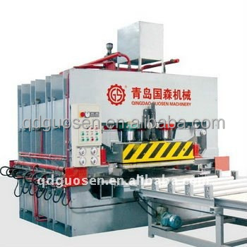 200 ton hot press machine for bamboo flooring