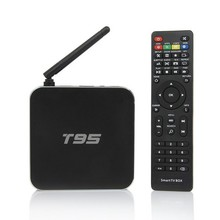 amlogic s905 2g 8g tv box android 5.1 tv box quad core led display external antenna good tv box t95