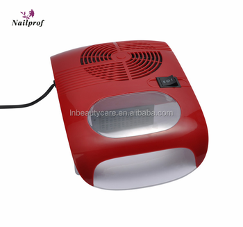 2018 Nailprof Electric Nail Table Cyclone Dust Collector With Exhaust Fan Brush Using