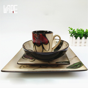 fine porcelain dinnerware handprinting dinnerware sets turkey ceramic dinner plates ceramic dinner set