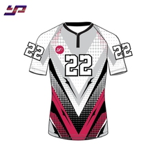 Wholesale sublimation custom rugby uniform quick dry rugby jersey