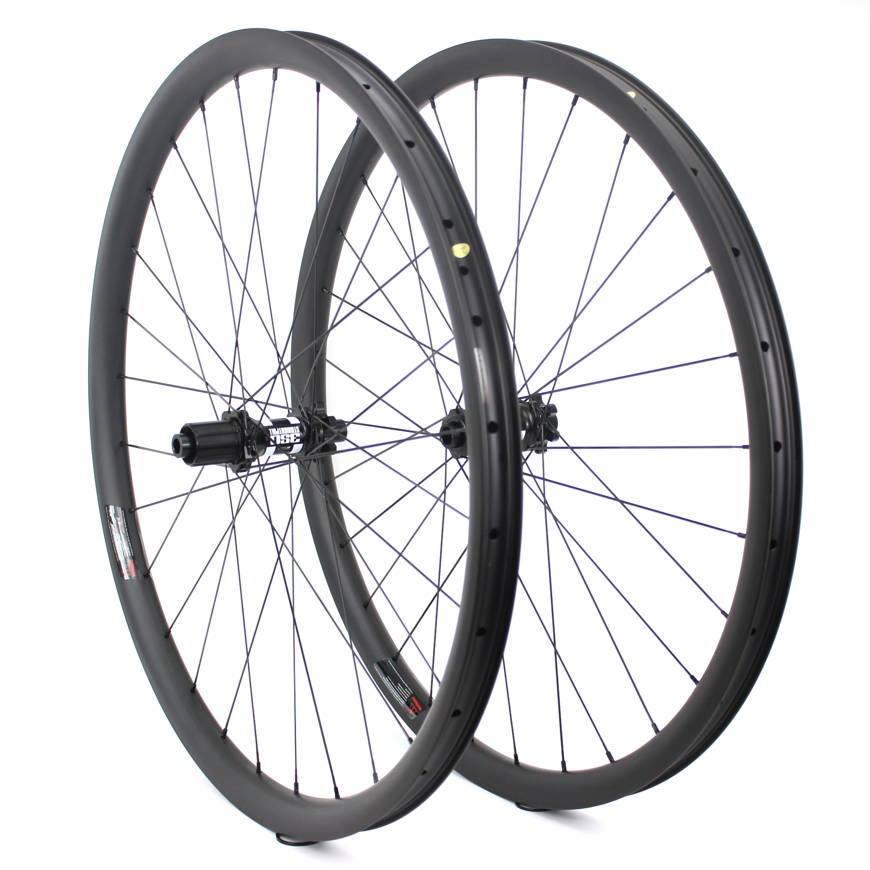 Chinese Carbon MTB Wheels 29er 36mm Width Mountain Bike Carbon Wheels 29 for DT 350s Barrel shaft Hub